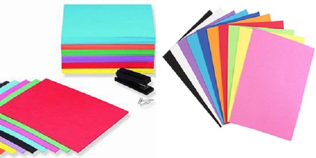 Các loại giấy in màu hiện nay
