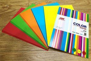 Khả năng tương thích với mực in của các loại giấy in màu