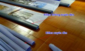 Điều cần lưu ý khi làm biển hiệu quảng cáo với phương pháp in hiflex